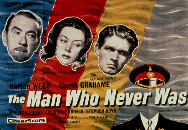 MAN WHO NEVER WAS, THE MWNW 001 POSTER